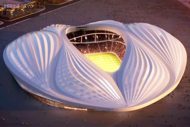 VB-stadion, Katar.