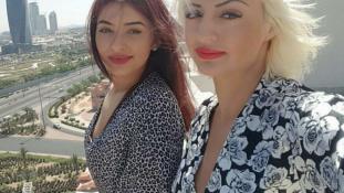 A román lányok Kuvaitban dubajoznak
