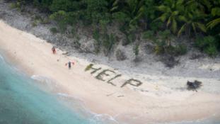 Így menekültek meg a hajótöröttek egy lakatlan szigetről