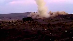 Törökországban csapódtak be a Szíriából kilőtt rakéták