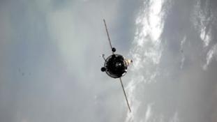 Dokkoltak az űrállomáson