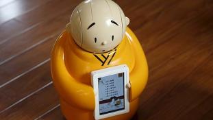 Buddhista szerzetes lett a robot