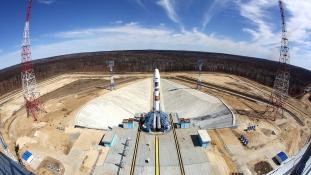 Sikeres az új orosz űrkikötő első kilövése