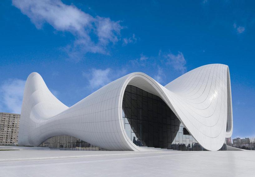 Hejdar Alijev központ, Baku, Azerbajdzsán.