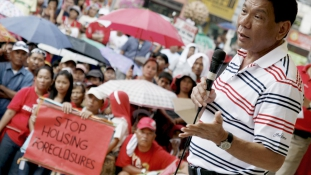 Elnökváltás lesz a Fülöp-szigeteken