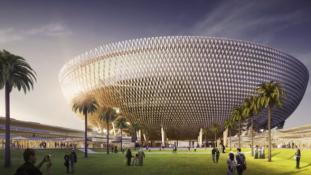 Dubajban épül és szép lesz a világ első teljesen légkondicionált stadionja