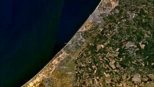 """Nyolc év után leveszik a """"zárva"""" táblát egy gázai határátkelőről"""
