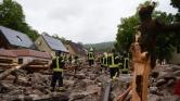 Évtizedek óta nem látott vihar volt Dél-Németországban