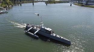 Tengeri vadász – kifutott a teljesen automata hadihajó