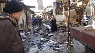 Míg az iraki hadsereg Falludzsát ostromolja, az Iszlám Állam Bagdadban robbant