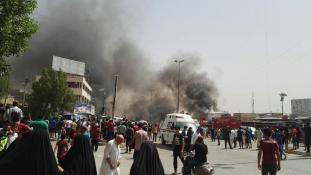 Bagdadi piacon robbantott az Iszlám Állam – több mint 60 halott