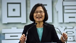 Hivatalba lépett Tajvan első női elnöke