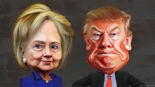 Trump már majdnem olyan népszerű, mint Clinton
