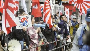 Japánban tilos külföldieket gyűlölni