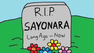 Nincs többé sayonara – A japánok már nem használják