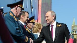 A terrorizmusról beszélt Putyin a Győzelem Napján