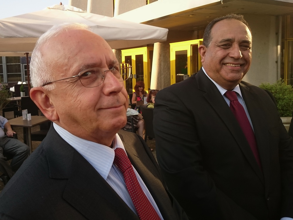 Şakir FAKILI  Törökország és Vilayat GULIYEV Azerbajdzsán nagykövete