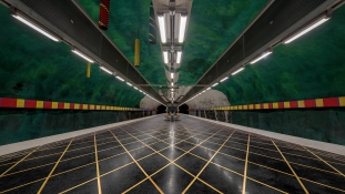 Stockholm metrómegállói a legizgalmasabbak