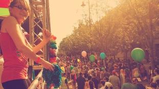 Jesse Eisenberg a Pride oldalán