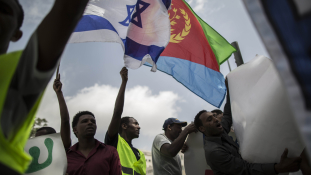 Izraelben tüntettek a kegyetlen Afewerki-rezsim ellen