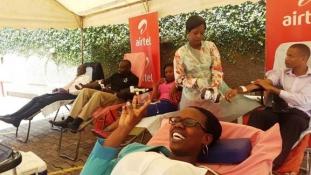 Posztolják ki, ha vért adtak – kérik az önkénteseket Ugandában
