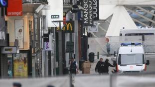 Pszichiátriai beteg volt a reggeli terrorriadó okozója Brüsszelben