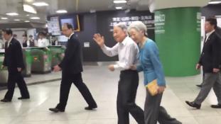 Japánban a császár is vonattal utazik