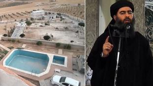 Elfoglalták az Iszlám Állam vezérének luxusvilláját Szíriában