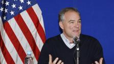 Középutas szenátor Hillary Clinton alelnökjelöltje