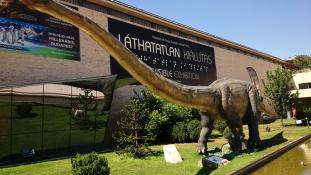 Dinoszauruszkiállítás a Millenárison (fotók)
