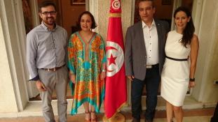 Tuniszban folytatja – elköszönt Budapesttől a tunéziai idegenforgalmi hivatal  képviseletének  vezetője