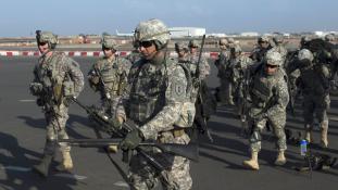Amerikai kommandósok Dél-Szudánban