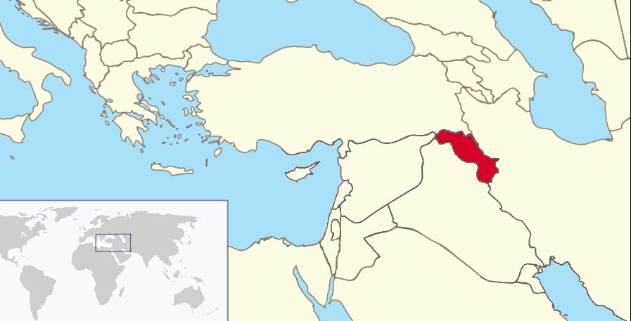 Iraki Kurdisztán (Wikipedia)