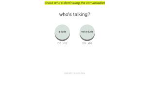 Mostantól mérheti, hogy többet beszélnek-e a férfiak