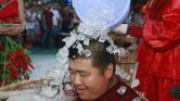 Paprikafesztivál jeges dézsában Kínában