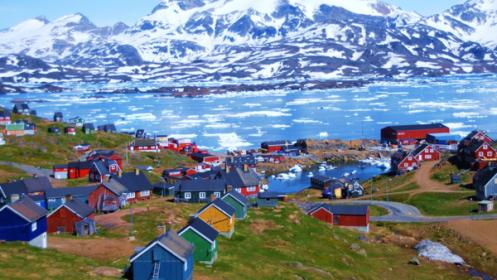 Grönland nyáron