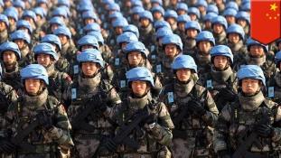 Kínai kéksisakosokat lőttek ki Dél-Szudánban