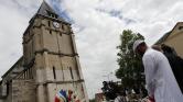 Pénteken a mecsetben, vasárnap a templomban Normandiában