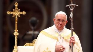 Ferenc pápa: a világ háborúban áll!
