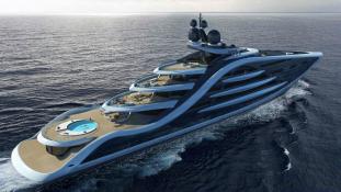 Ez lesz a világ legnagyobb jachtja