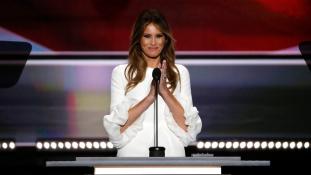 A magánember – felesége kampányolt Trump mellett Clevelandben