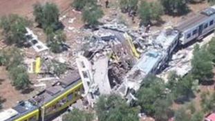 Az egyik vonat belefúródott a másikba – tovább nőtt az olaszországi baleset áldozatainak száma