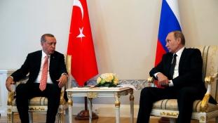 Újra barátkozik Putyin és Erdogan