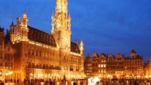 Kevés a turista Brüsszelben