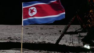Észak-koreai zászló lesz a Holdon
