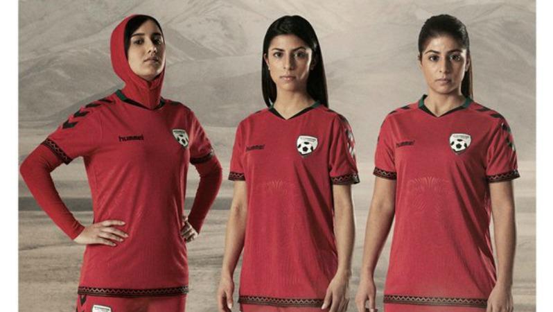 afgán női foci