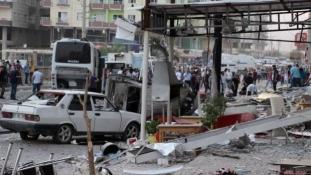 Kettős robbantás, nyolc halott Törökországban