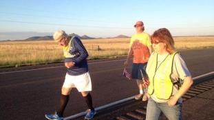 90 évesen kezdett futni, a 93. születésnapján ért célba