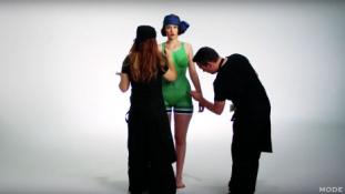 Ráfestették a modellre a bikini történetét
