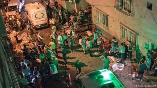 Egy gyerek robbantotta fel magát és az utcán táncoló násznépet Törökországban
